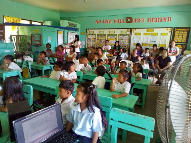Alejo S Dionela Primary school Pajo Libertad with 42 participants 14 male and 28 female