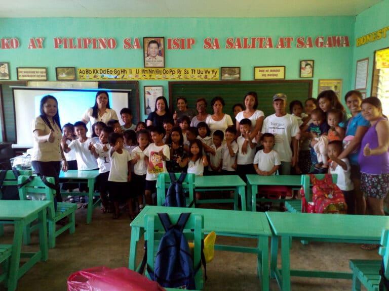 alejo s dionela primary school Pajo libertad 25 pupils teachers and parents