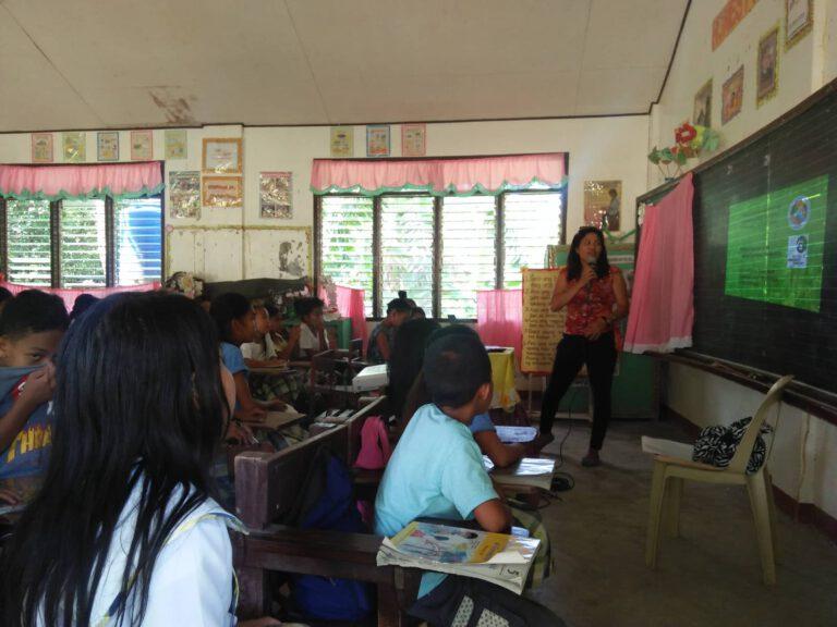 candari elemntary school 35 participants